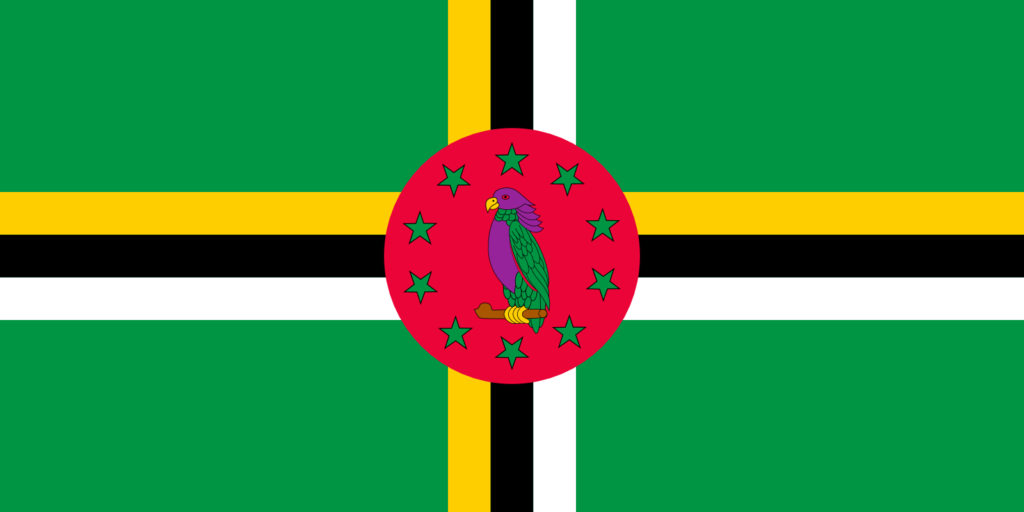 Dominica Country Flag