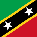 St Kitts & Nevis Country Flag
