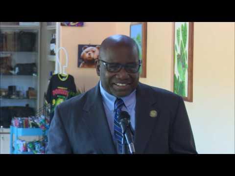 New scanners at Douglas-Charles: Lennox Forte CARICOM Development Fund
