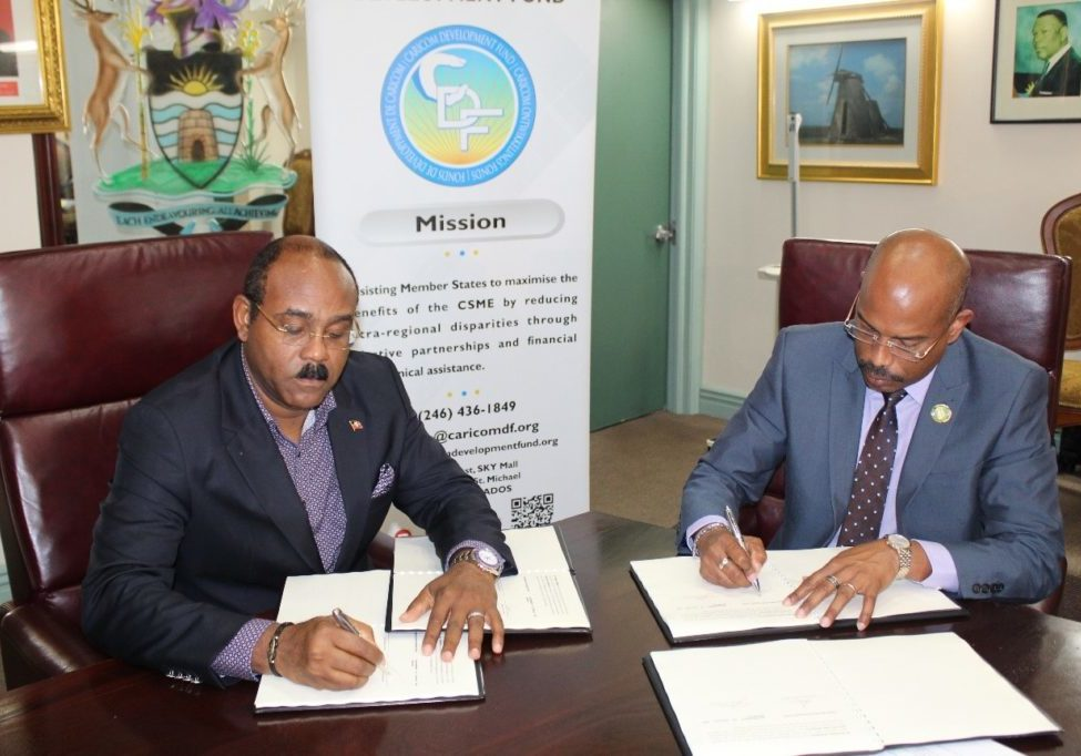 Antigua Signing