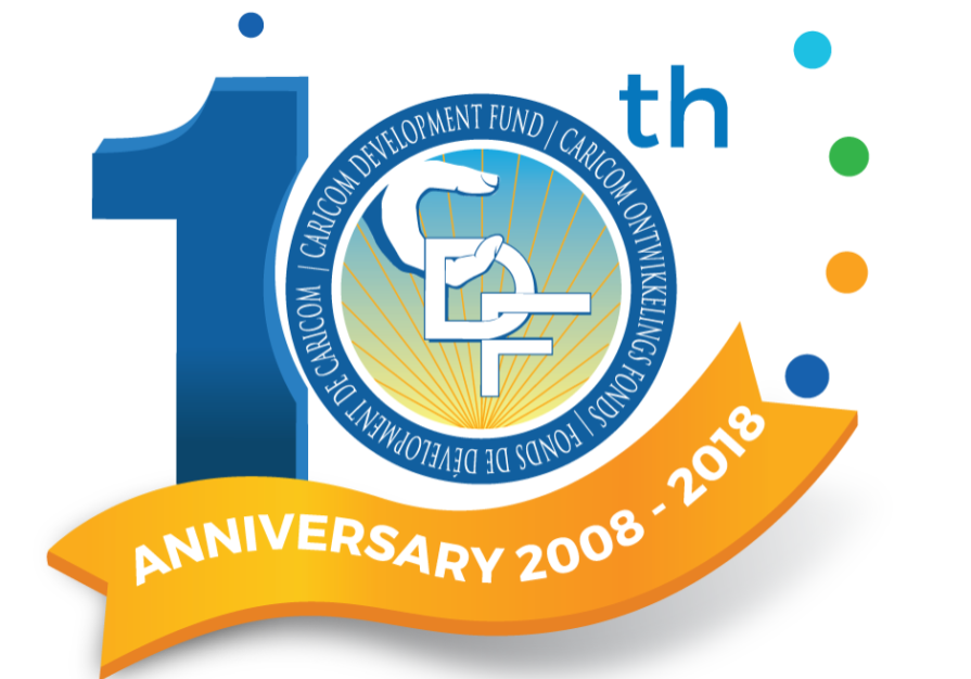 CDF 10th Anniversary Logo Large