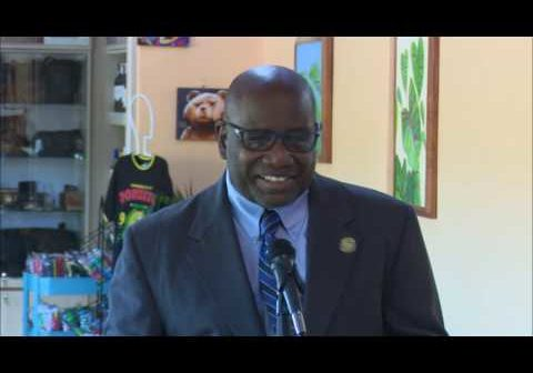 New scanners at Douglas-Charles: Lennox Forte CARICOM Development Fund